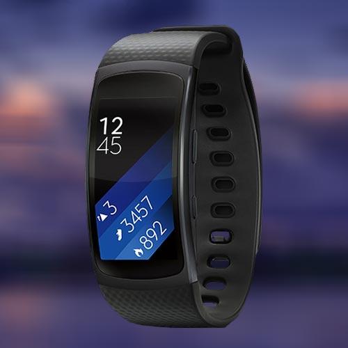 Samsung Gear Fit 2 Activity tracker met Nederlandse handleiding