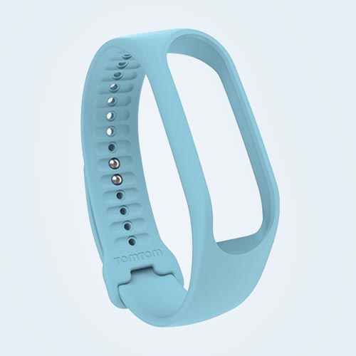 TomTom Touch Activity tracker bandje - Lichtblauw - Small