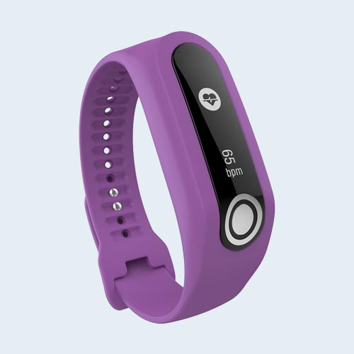 TomTom Touch Activity tracker bandje - Paars - Small