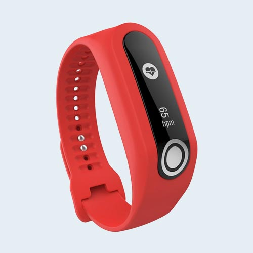 TomTom Touch Activity tracker bandje - Rood - Small 2