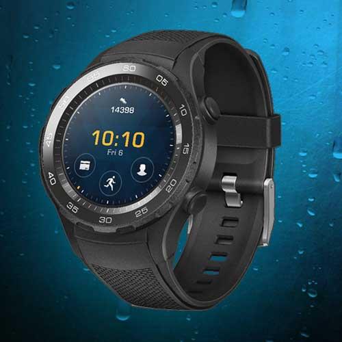 Huawei Watch 2 Sport - Smartwatch - Zwart